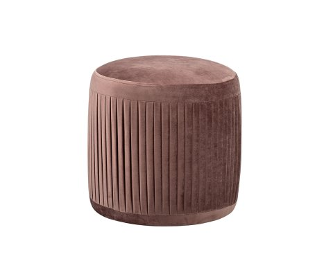 Pouf vintage 39cm PLEAT - Bloomingville