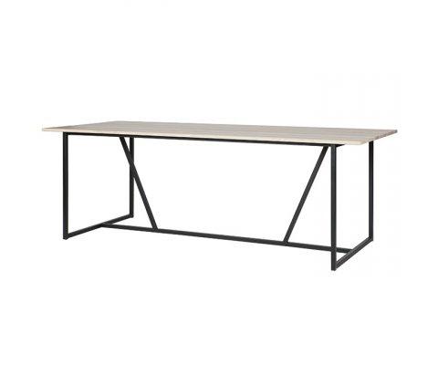 Grande table à manger 8p bois massif SILAS - Woood