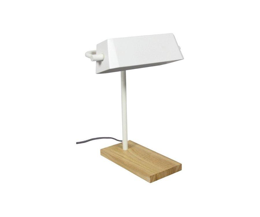 Lampe de table design bois métal JETSON - Red Cartel