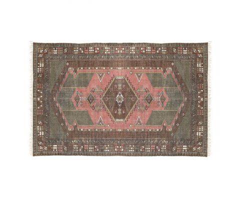 Tapis d'orient TULZIN coton délavé 120x180cm - HK Living