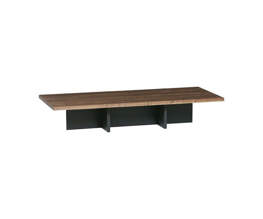 Grande table basse bois 137x60cm LAFFERTY