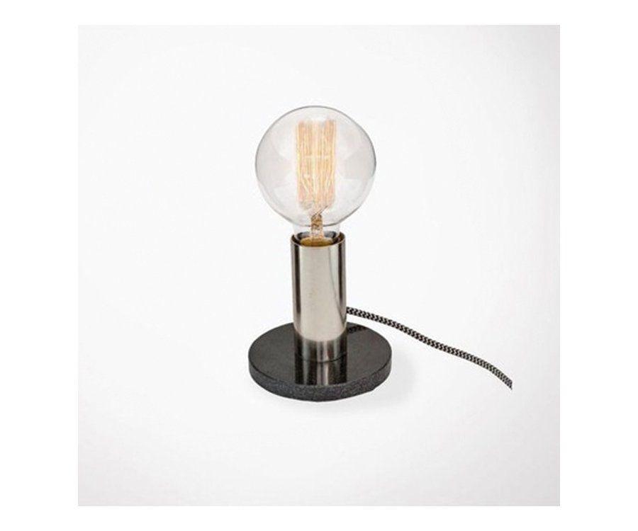 Lampe de bureau ALTON - marbre noir