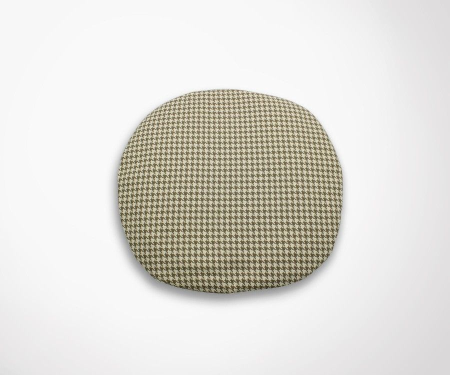 Coussin chaise TULIP Saarinen - pied de poule