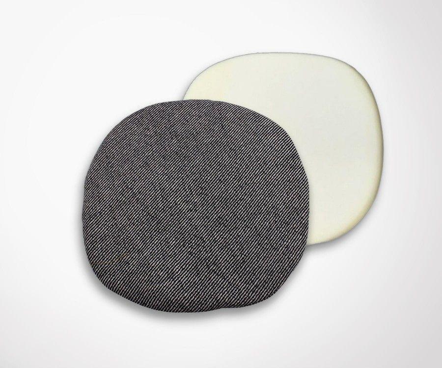 Coussin chaise TULIP Saarinen - tissu aspect laine