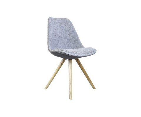 Chaise design CHARLIE - rembourrée