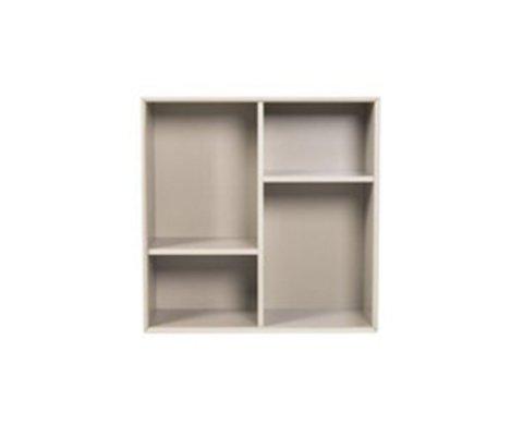 Petite étagère carrée style moderne ZITA