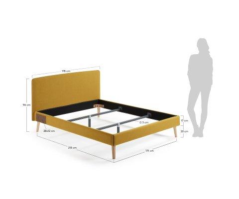 Lit 160x190cm ALIGNAN