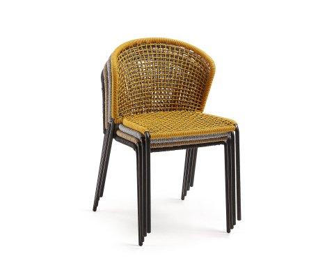Chaise de jardin en corde CREVEA