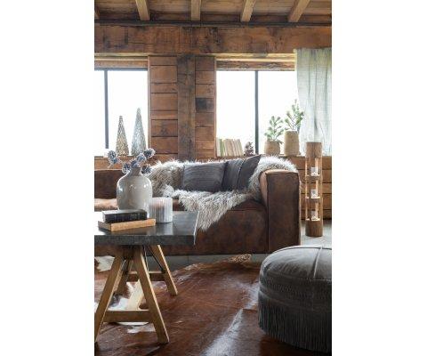 Très grand canapé cuir style moderne GULIVER - J-Line