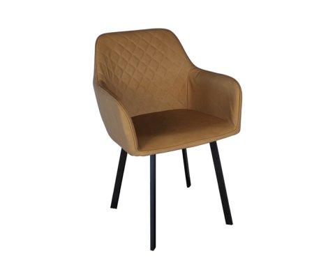 Chaise rembourrée scandinave-GEMALI