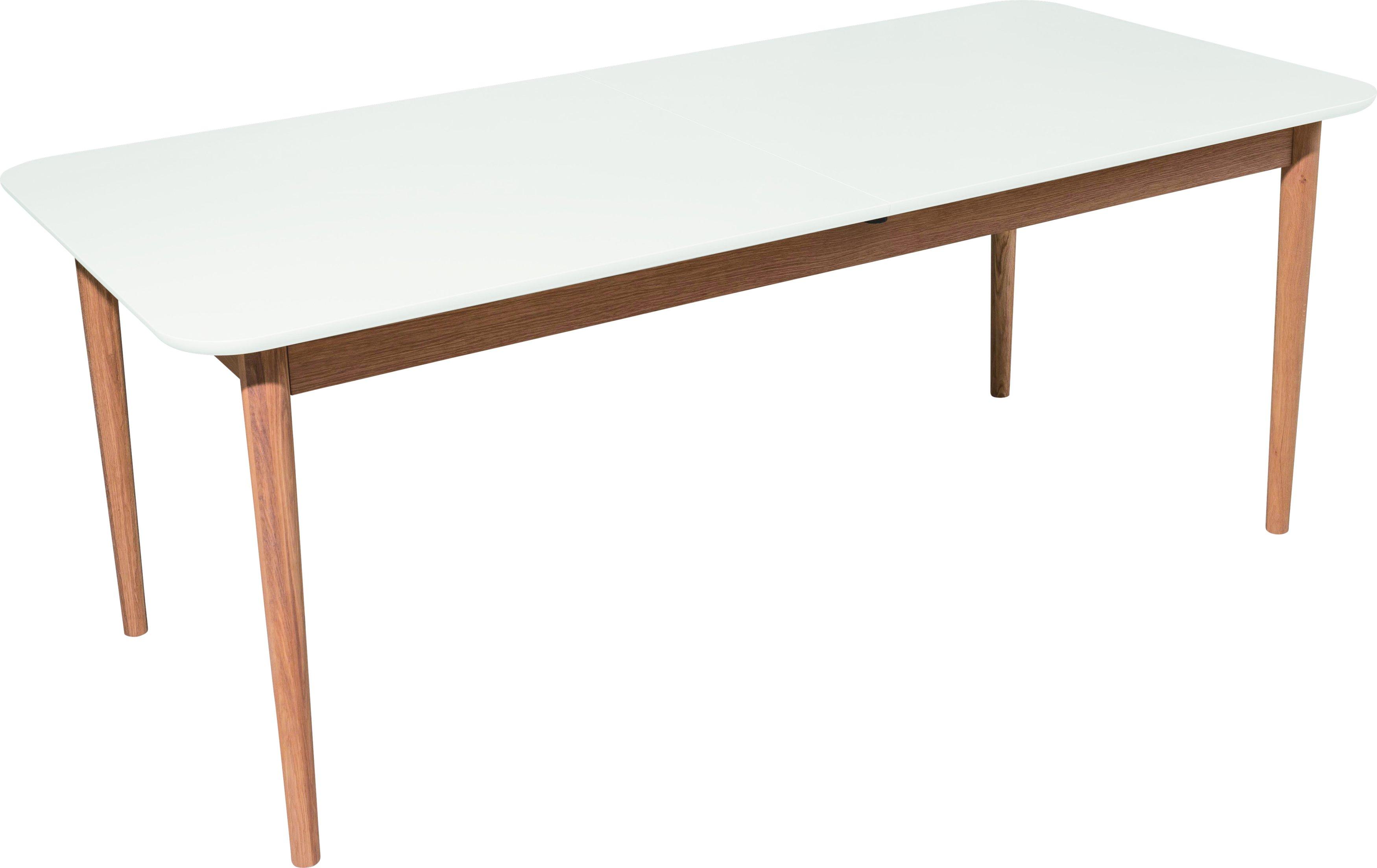 Table à manger scandinave en bois de chêne LIA, qualité supérieure