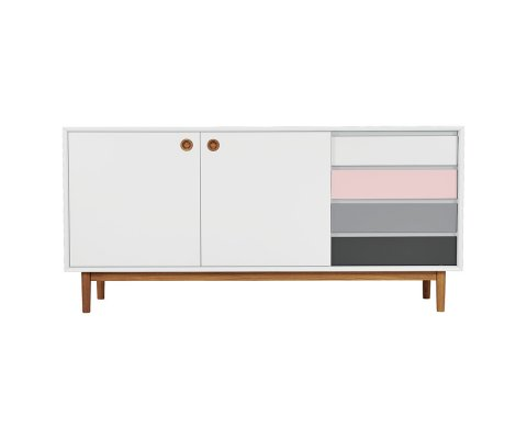 Console scandinave 2 portes- JUSTINE