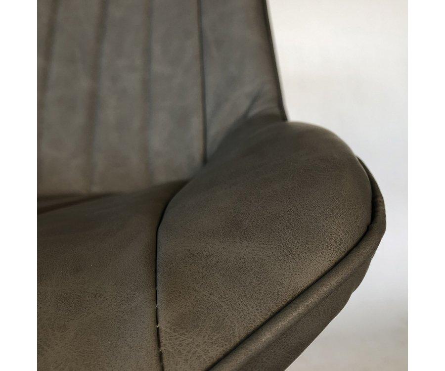 Lot de 2 Chaises rembourrées moderne- BIBA