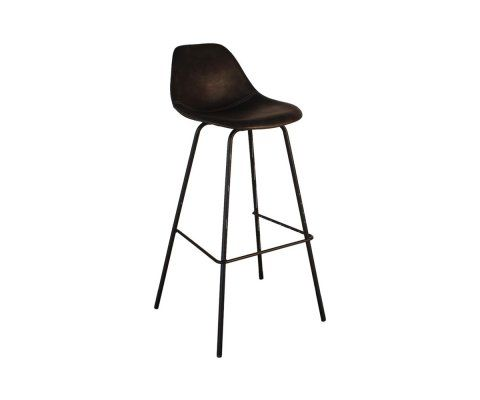 Tabouret de bar design simili cuir SPRINKLER - COD Furnitures