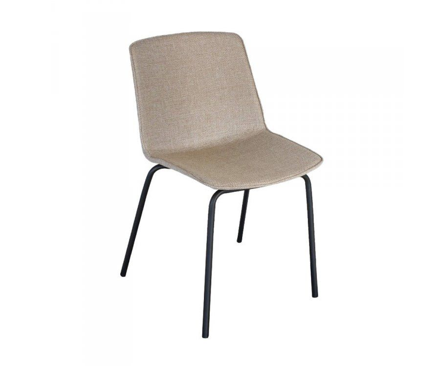 Lot 2 chaises tapissées HARONA