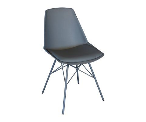 Chaise design avec coussin ANJI