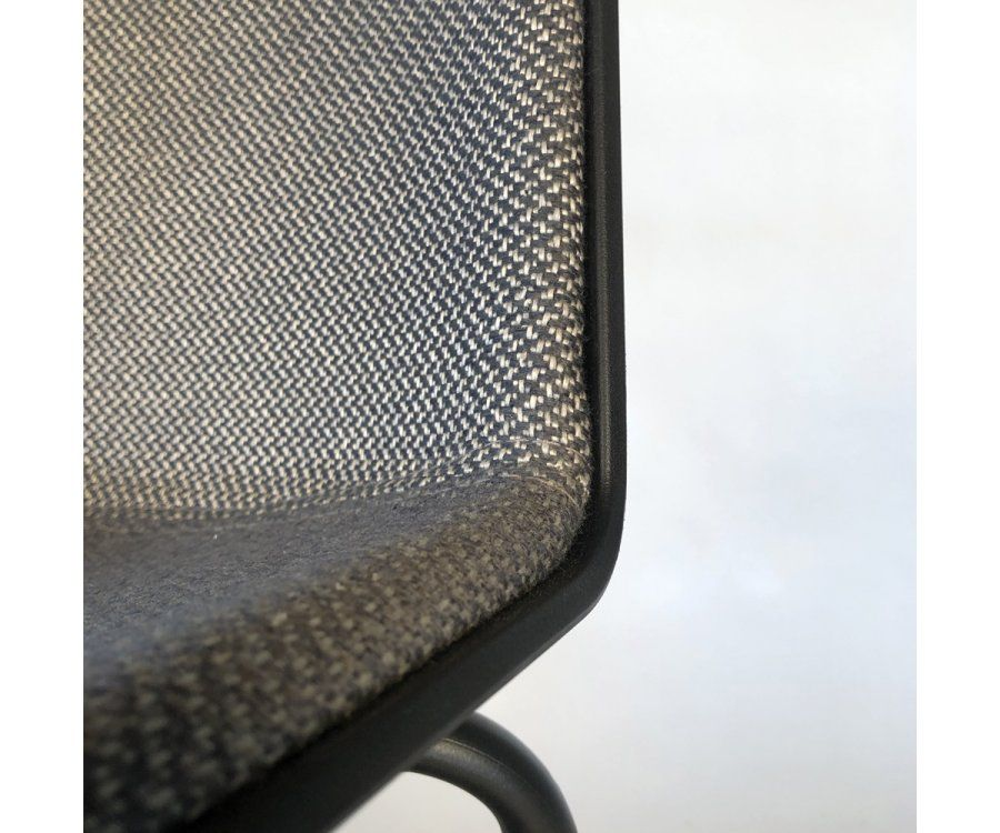 Chaise design bi matières HARONA - COD Furnitures