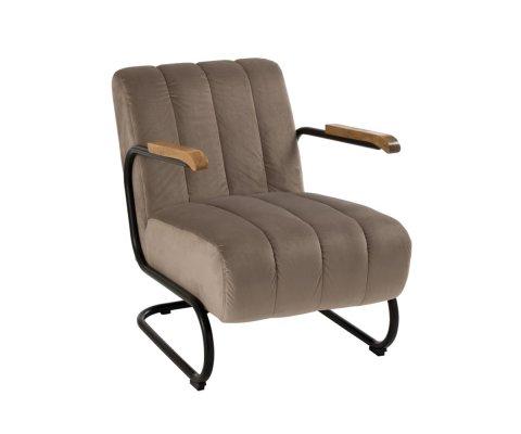 Fauteuil relax lounge en tissu SIZA