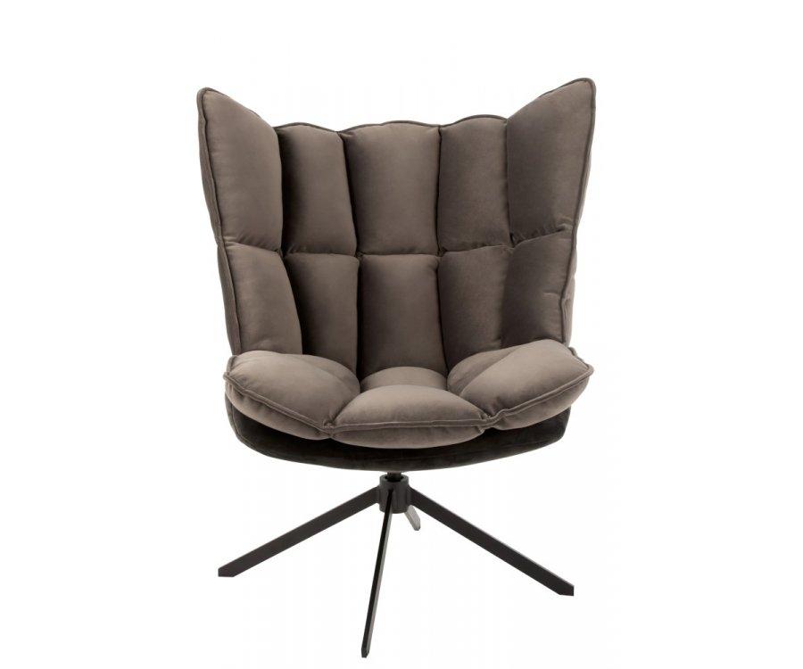 Fauteuil lounge vintage-ZALA