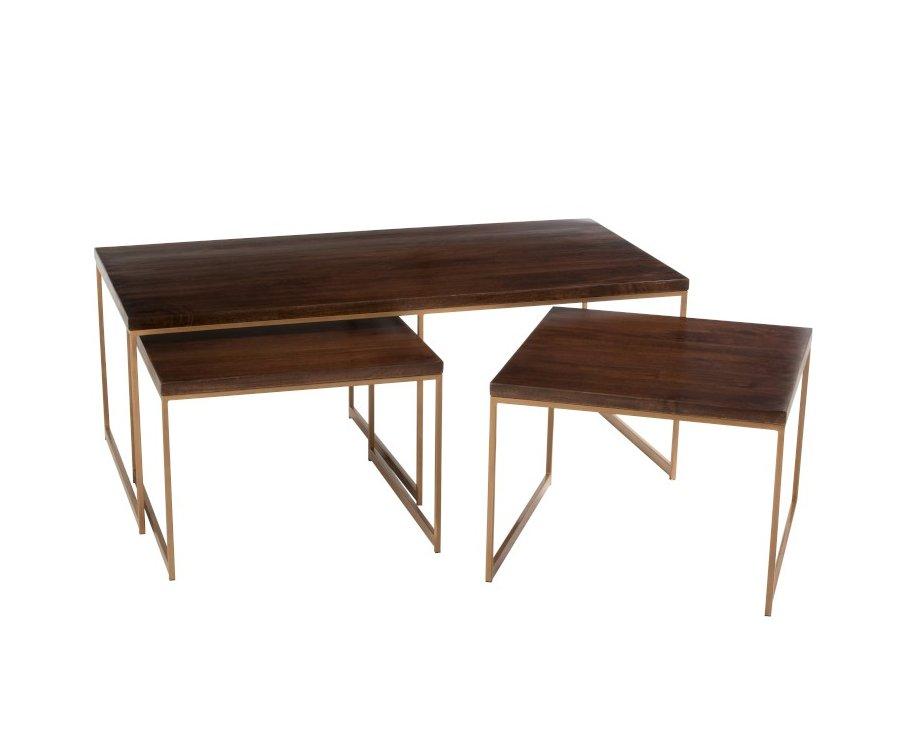 Set de 3 tables basse-TUTO