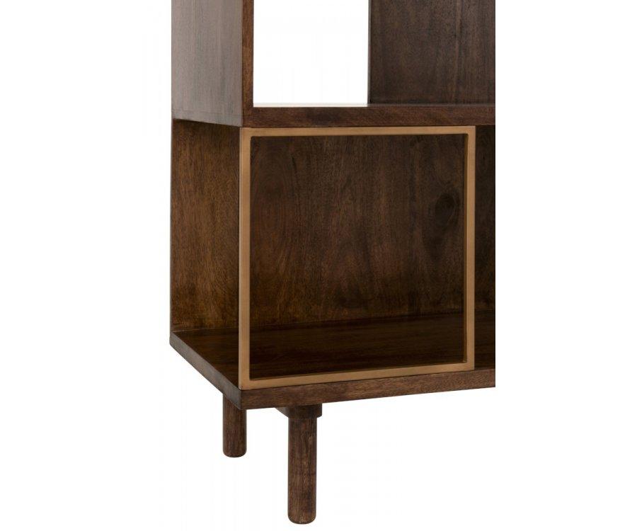 Etagère vintage bois-YALI