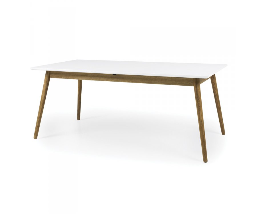 Table à manger rectangle scandinave-ZENIO-TR