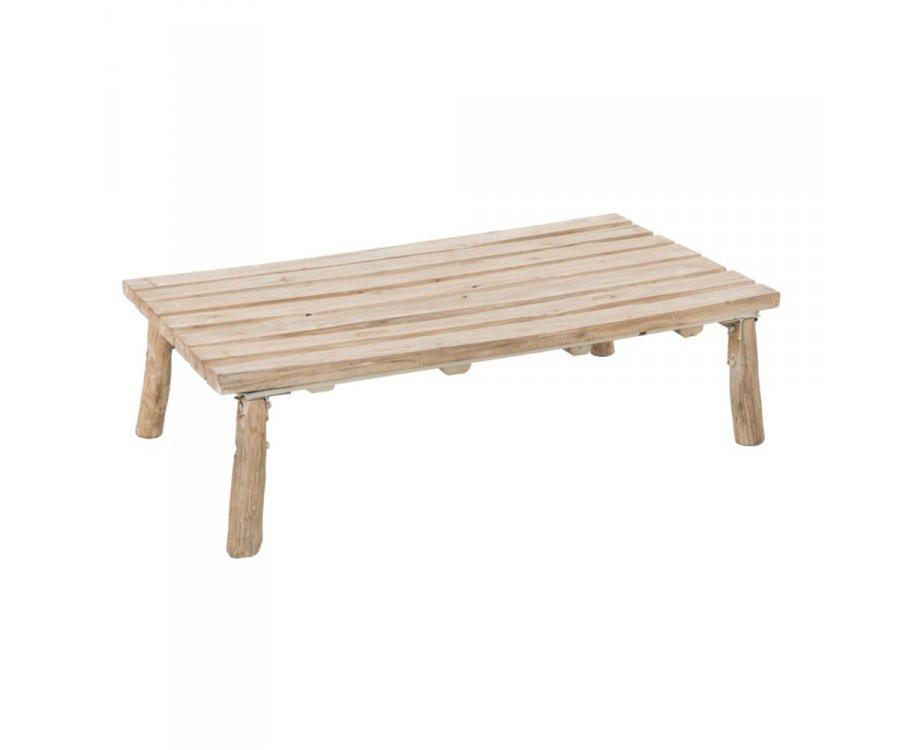 Table basse bohème bois-FANE