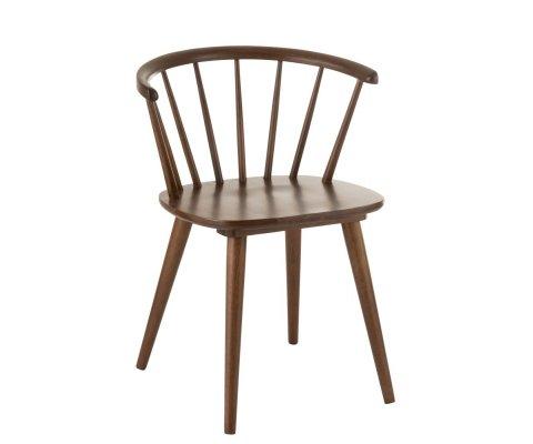 Chaise design vintage bois-FOLIO
