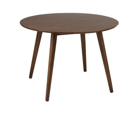 Table ronde vintage bois-GOMIA