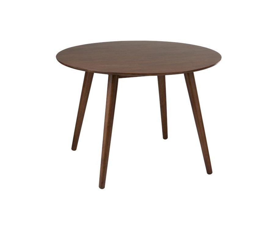 Table ronde vintage bois-GOMIA