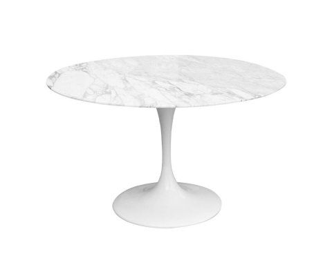 Table FLOWER marbre - 120cm