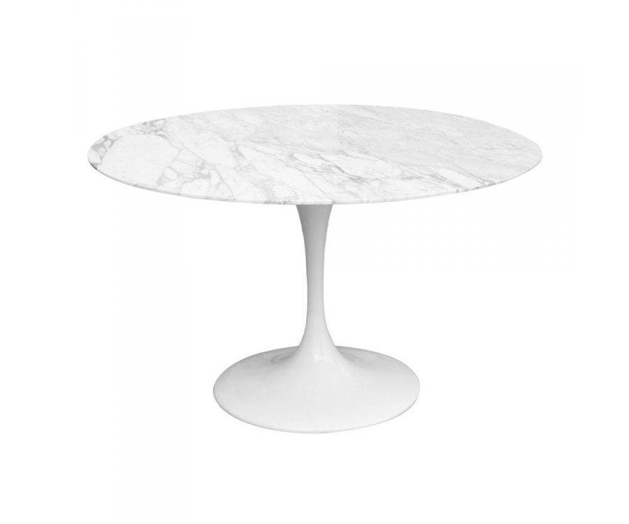 Table FLOWER marbre - 120cm