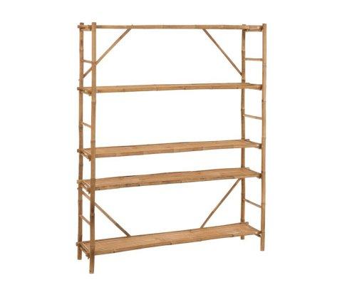 Etagère 5 étages en bambou BEN