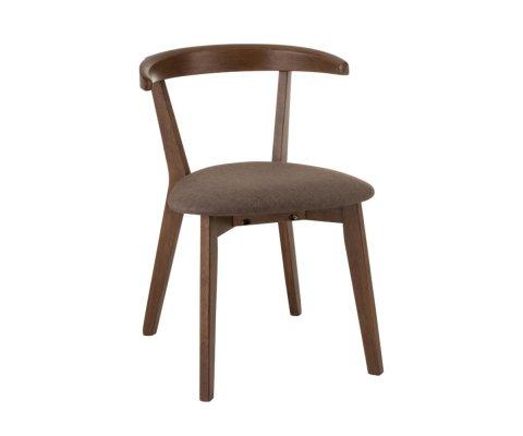 Chaise design vintage bois-LOZA
