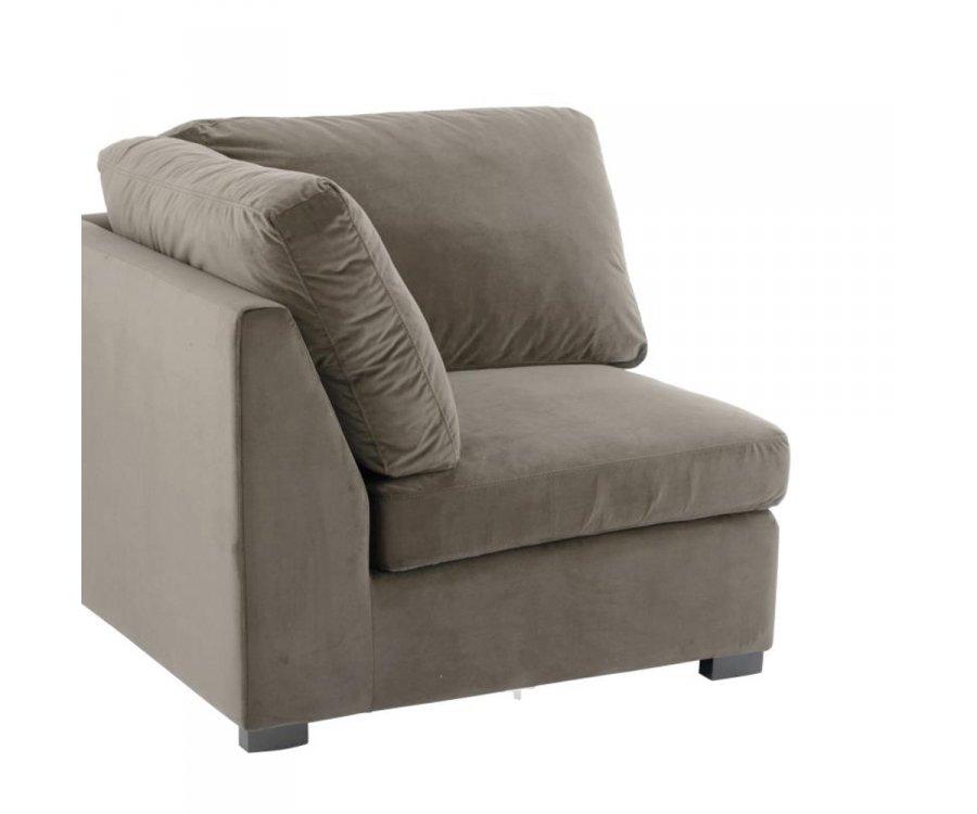 Section fauteuil coin pour canapé à assembler MELLOW
