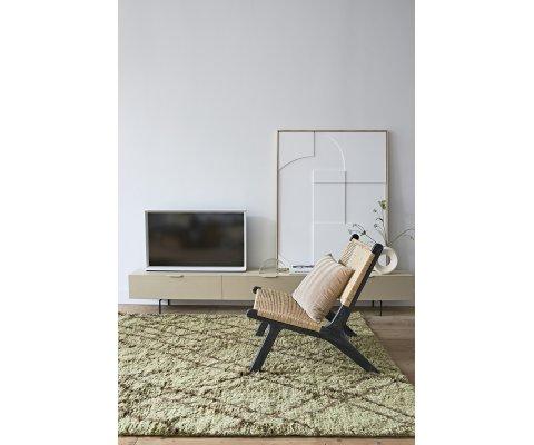 Fauteuil lounge naturel-LOUNI