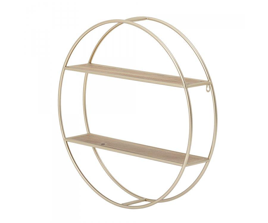 Étagère ronde métal-VANO