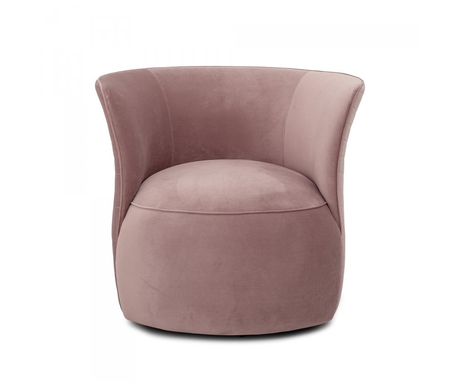 Fauteuil lounge rond-ROZIE