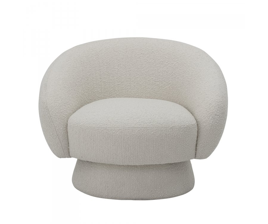 Fauteuil lounge rond-HARRY