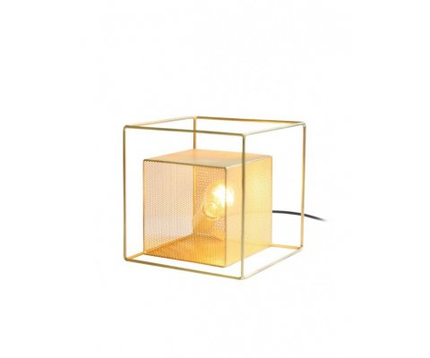 Lampe à poser design en métal doré ANNE