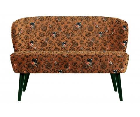 Petit canapé 2 places à motifs SAMPAIO