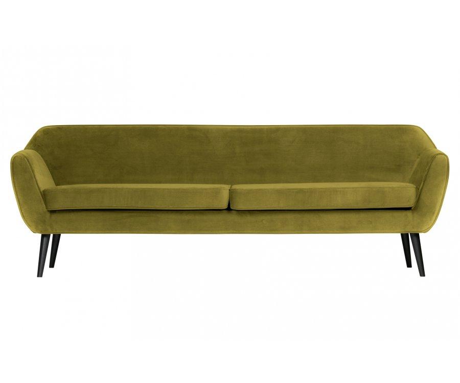 Grand canapé 4 places en velours FREUD