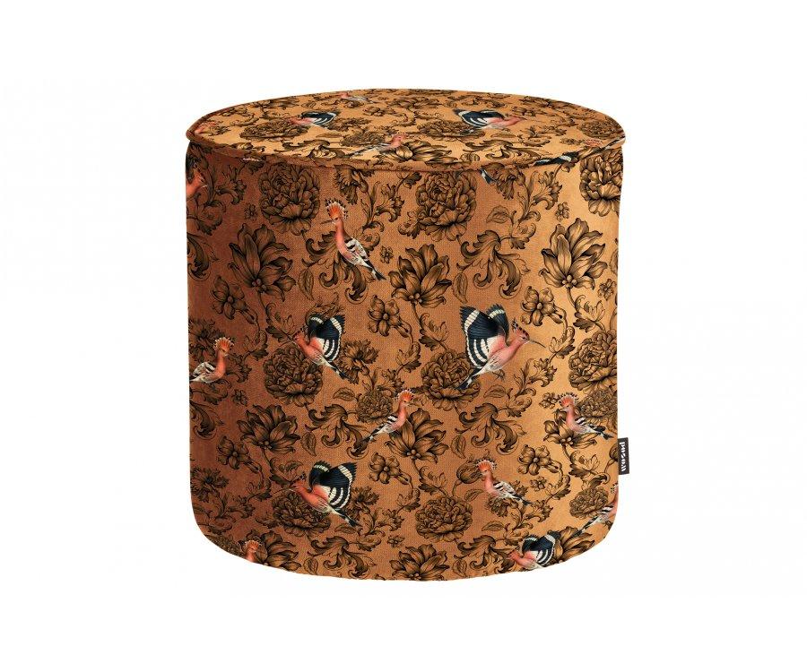 Petit pouf design fleuri SAMPAIO