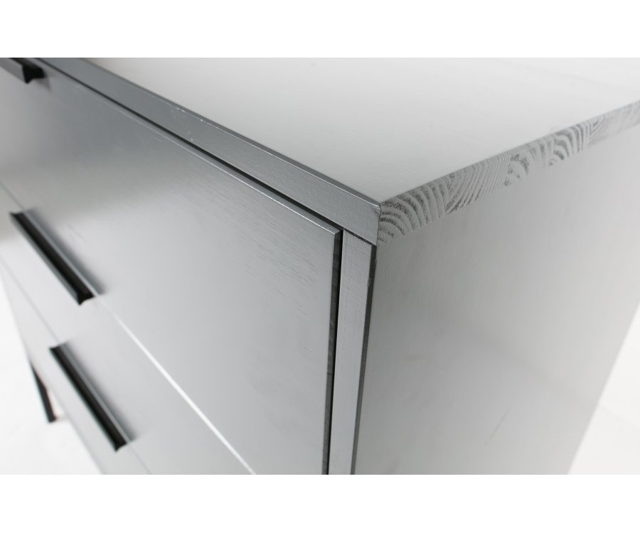 Commode design 3 tiroirs en bois MADAMA