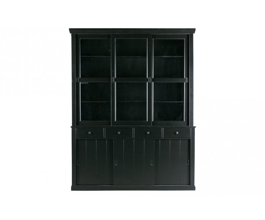 Grand vaisselier vitré en bois ROSS