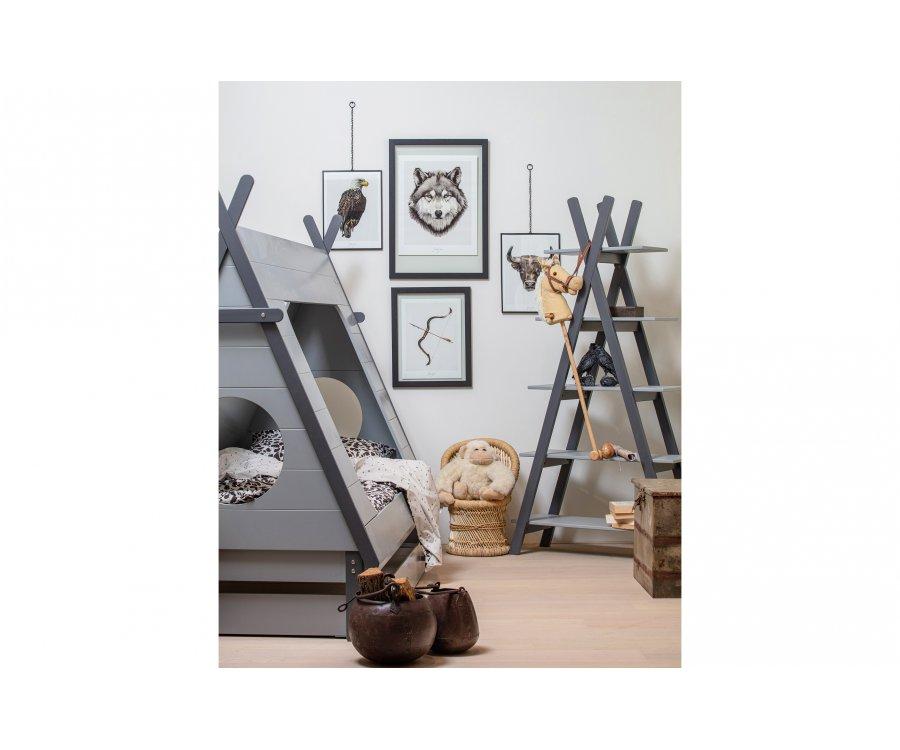 Etagère design chambre enfant forme tipi TOPI