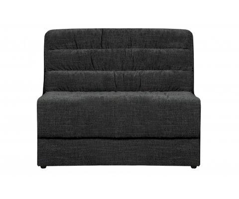 Section fauteuil pour canapé en velours BAGGY