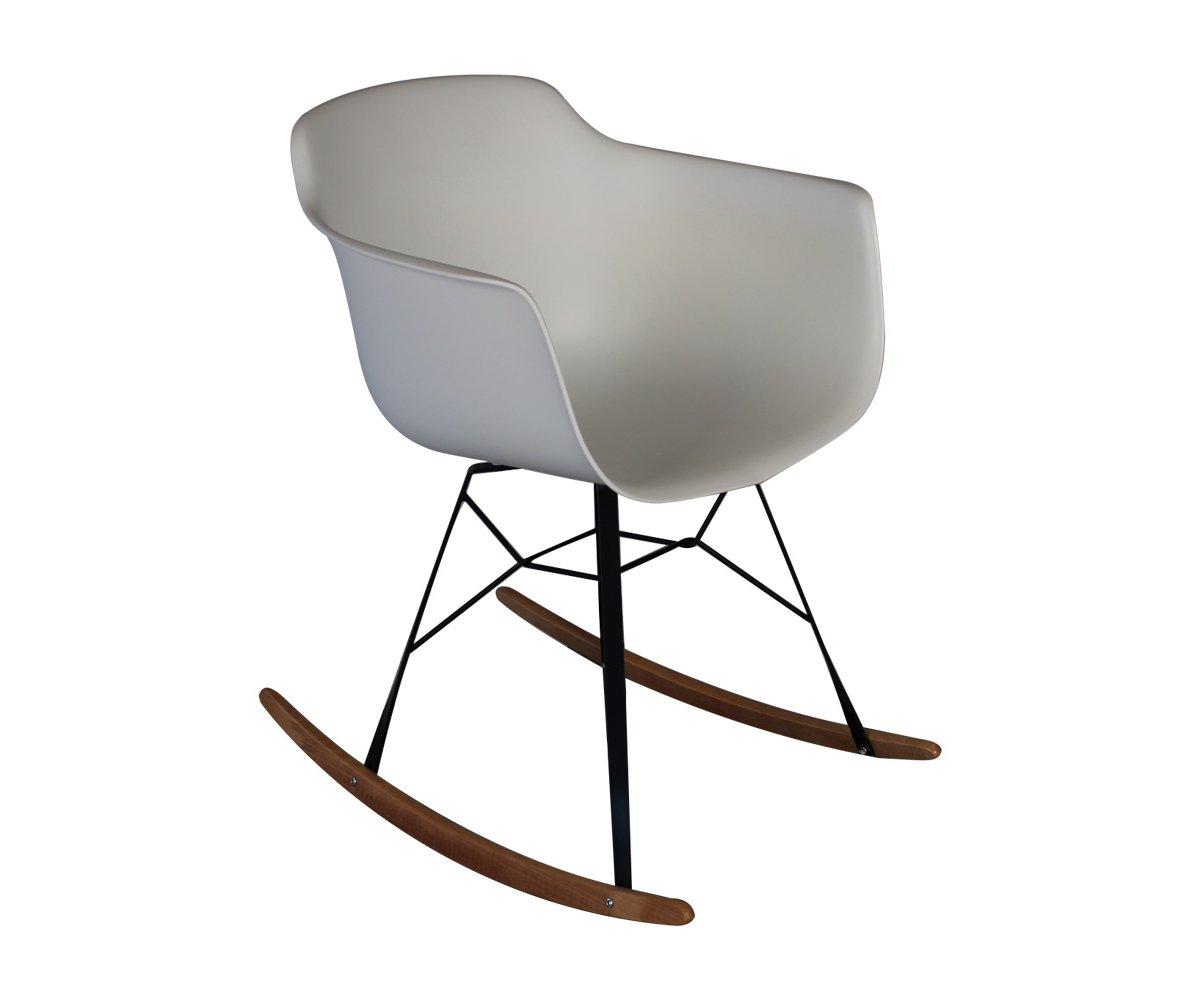 Chaise à bascule design scandinave plusieurs couleurs disponibles