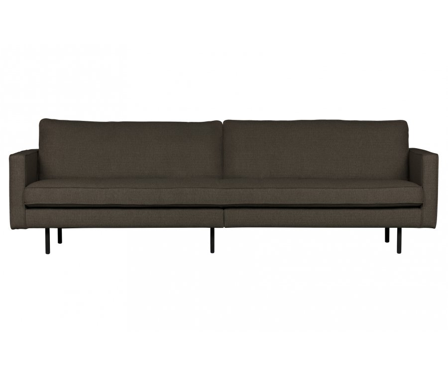 Canapé moderne 3 places en tissu COLORADO