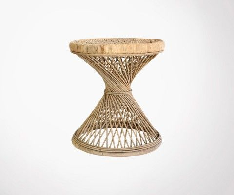 Table d'appoint en rotin naturel TORSEK